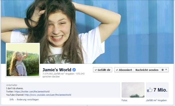 Jamie Currie Facebook-Seiten Titel Bild