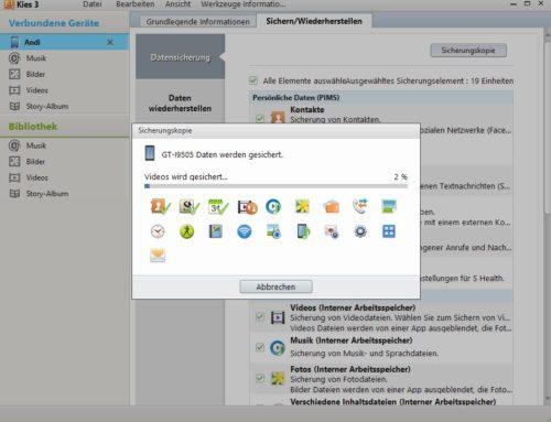 Samsung Galaxy S7 Edge mit Outlook synchronisieren