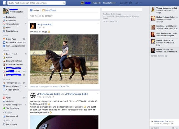 Facebook Design Update