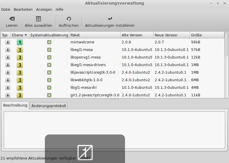 vmware tools installieren linux mint